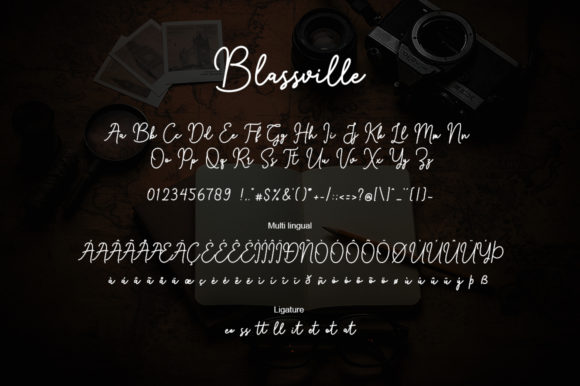 Blassville Font By Suby Store Image 6