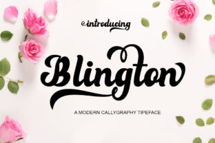 Blington Font By saidi studio