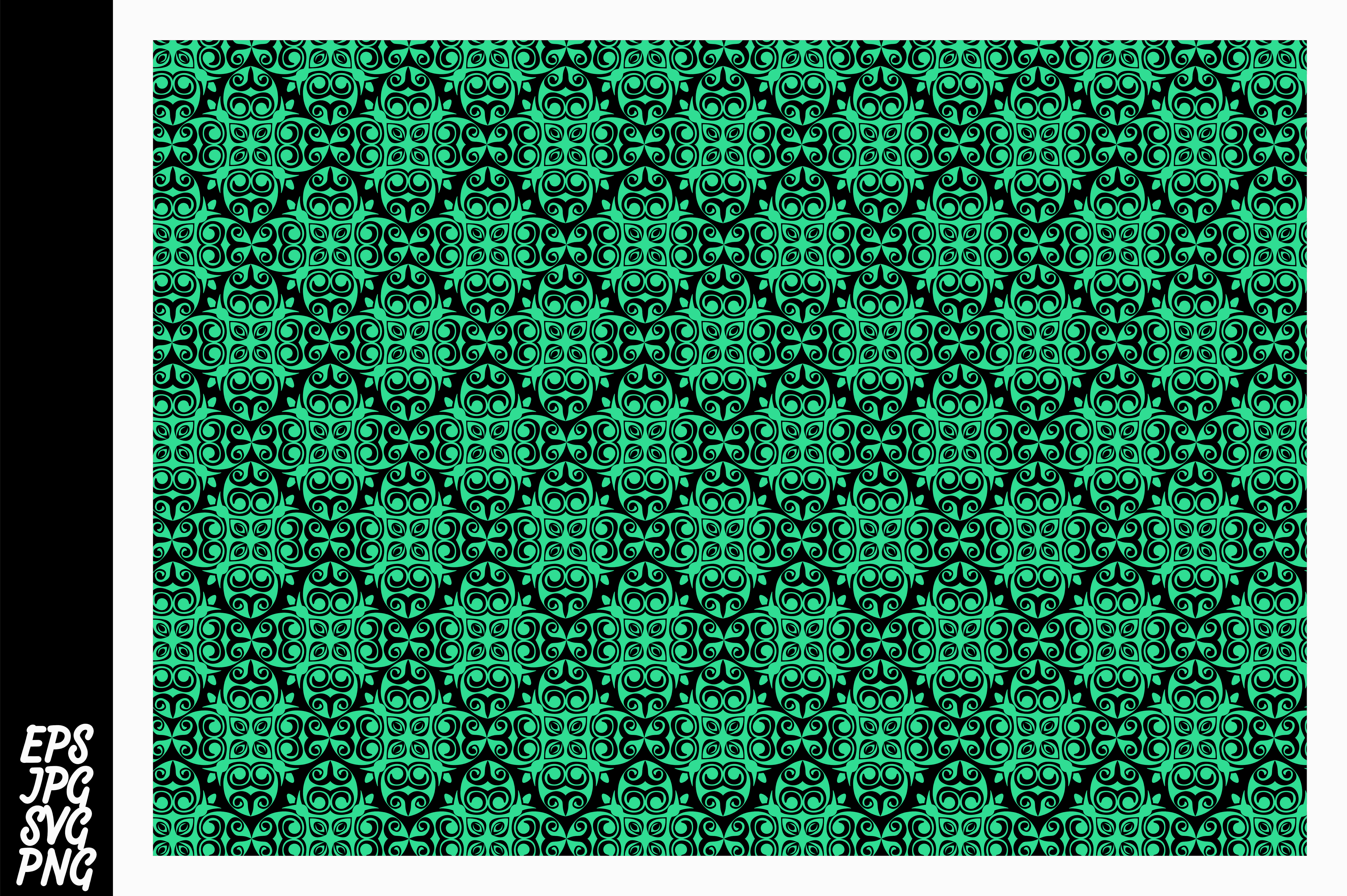 Download Free Blue Ornament Pattern Svg Graphic By Arief Sapta Adjie Ii for Cricut Explore, Silhouette and other cutting machines.