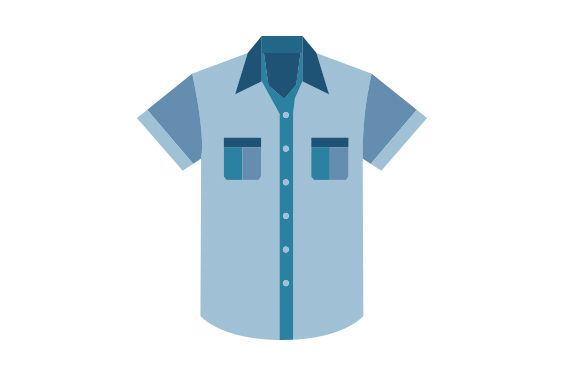Download Free Blue Shirt With Pockets Svg Cut File By Creative Fabrica Crafts for Cricut Explore, Silhouette and other cutting machines.