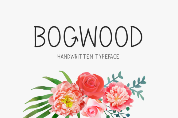 Print on Demand: Bogwood Display Font By Shattered Notion