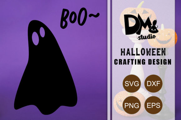 Print on Demand: Boo~ - Halloween Quote Graphic Crafts By Sharon ( DMStd )