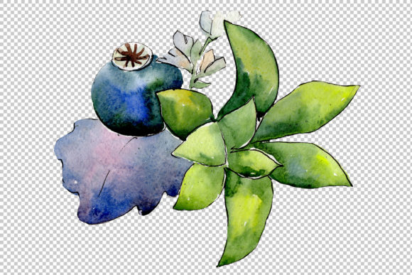 Print on Demand: Bouquet of Flowers Hugs Watercolor Png Graphic Illustrations By MyStocks - Image 4