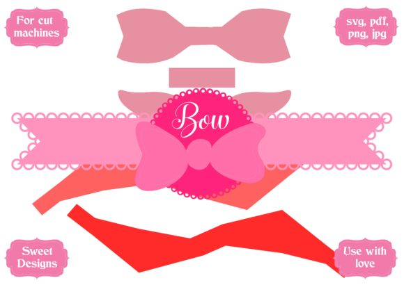 Download Free Bow 02 Graphic By Jgalluccio Creative Fabrica for Cricut Explore, Silhouette and other cutting machines.
