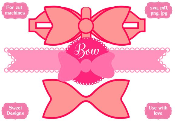 Download Free Bow Graphic By Jgalluccio Creative Fabrica for Cricut Explore, Silhouette and other cutting machines.