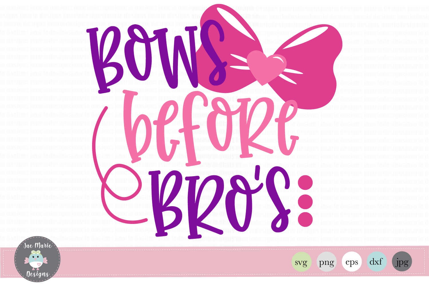 Bows Before Bro S Graphic By Thejaemarie Creative Fabrica