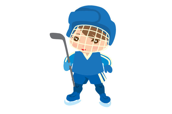 Download Free Boy Ice Hockey Player With Blank Jersey Svg Cut File By Creative for Cricut Explore, Silhouette and other cutting machines.