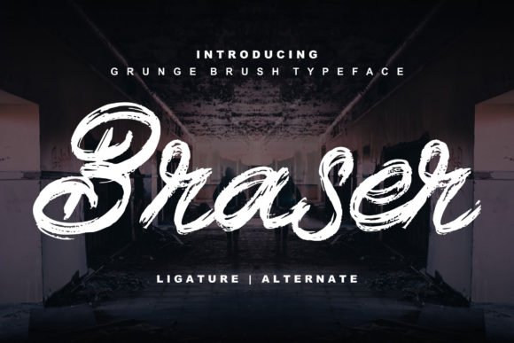 Print on Demand: Braser Script & Handwritten Font By Vunira