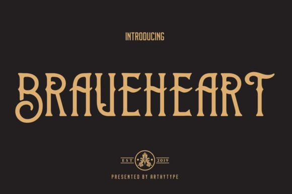 Brave Heart Font By Arthy Image 7
