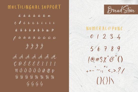 Bread Store Font By HansCo Image 11