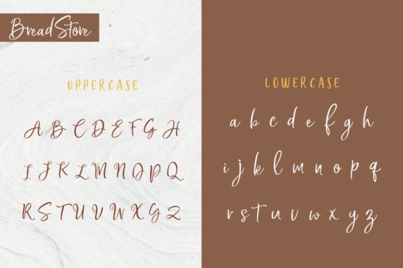 Bread Store Font By HansCo Image 10