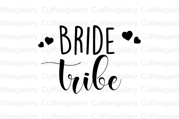 Download Free Bride Tribe Graphic By Cutfilesgallery Creative Fabrica for Cricut Explore, Silhouette and other cutting machines.