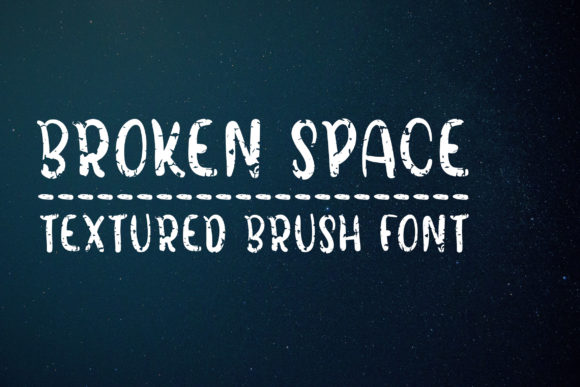Print on Demand: Broken Space Script & Handwritten Font By Dasagani