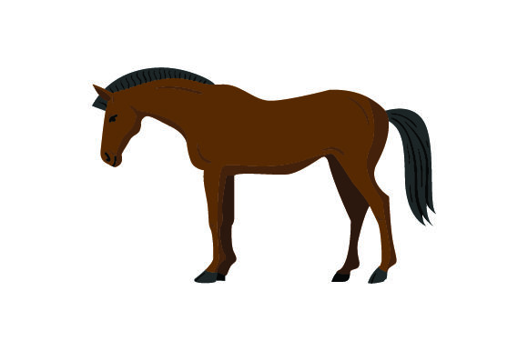 Download Free Brown Horse Svg Cut File By Creative Fabrica Crafts Creative for Cricut Explore, Silhouette and other cutting machines.