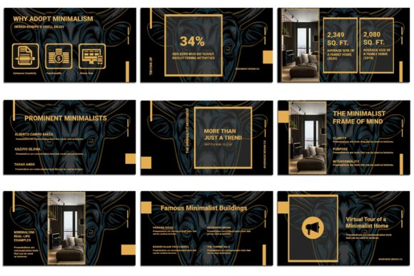 Print on Demand: BullPoint PowerPoint Presentation Graphic Presentation Templates By Gblack Id - Image 3
