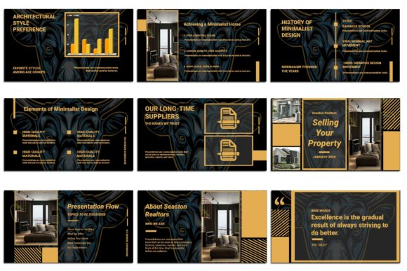 Print on Demand: BullPoint PowerPoint Presentation Graphic Presentation Templates By Gblack Id - Image 4