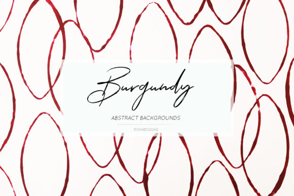 Burgundy Abstract Backgrounds Graphic By damlaakderes