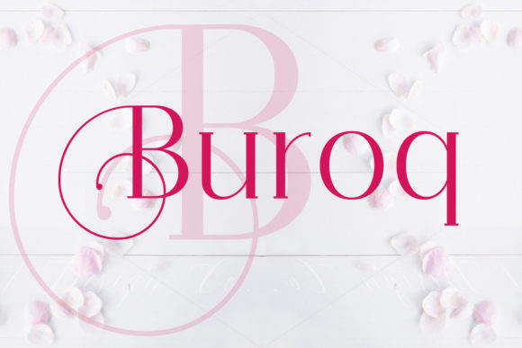 Print on Demand: Buroq Serif Font By da_only_aan