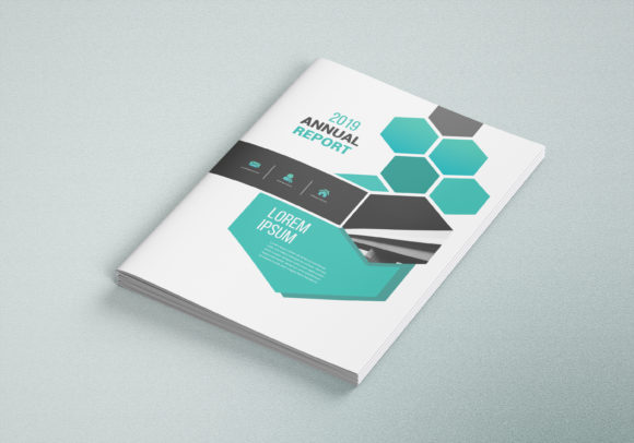 Download Free Business Brochure Template 02 Graphic By Awesome Templates Creative Fabrica for Cricut Explore, Silhouette and other cutting machines.