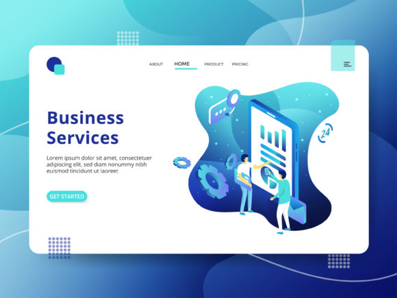 Business Services Graphic Illustrations By Twiri