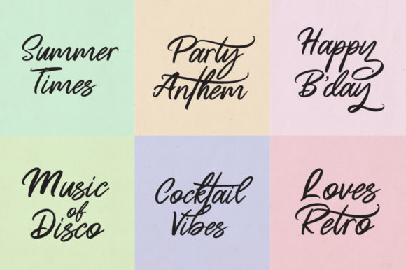 Print on Demand: Butter Swany Script & Handwritten Font By feydesign - Image 2