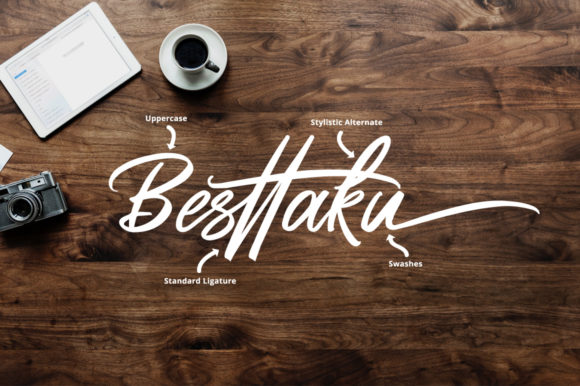 Print on Demand: Butter Swany Script & Handwritten Font By feydesign - Image 3