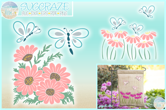 Download Butterflies and Daisies