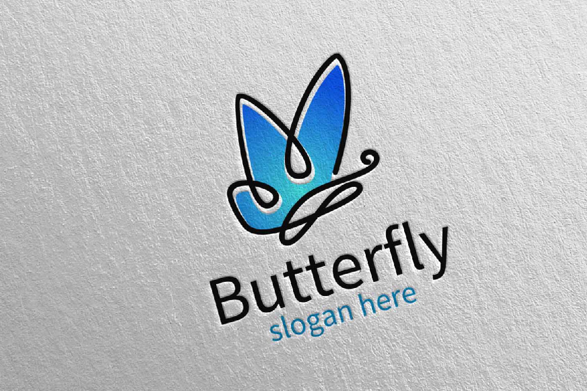 Download Free Butterfly Logo Vol 15 Graphic By Denayunecf Creative Fabrica SVG Cut Files