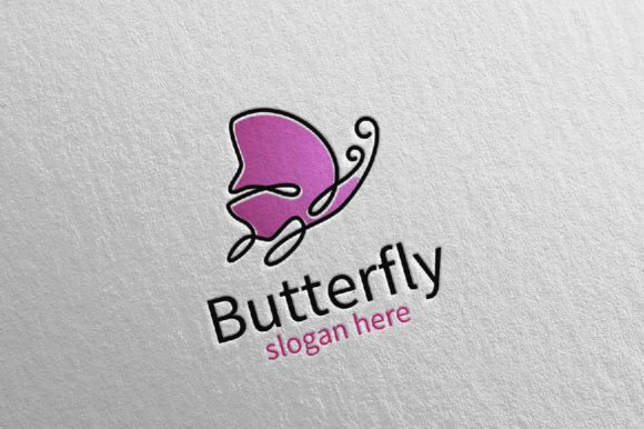 Download Free Butterfly Logo Vol 17 Graphic By Denayunecf Creative Fabrica for Cricut Explore, Silhouette and other cutting machines.