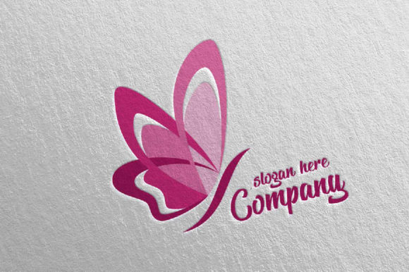Download Free Butterfly Logo Vol 9 Graphic By Denayunecf Creative Fabrica for Cricut Explore, Silhouette and other cutting machines.