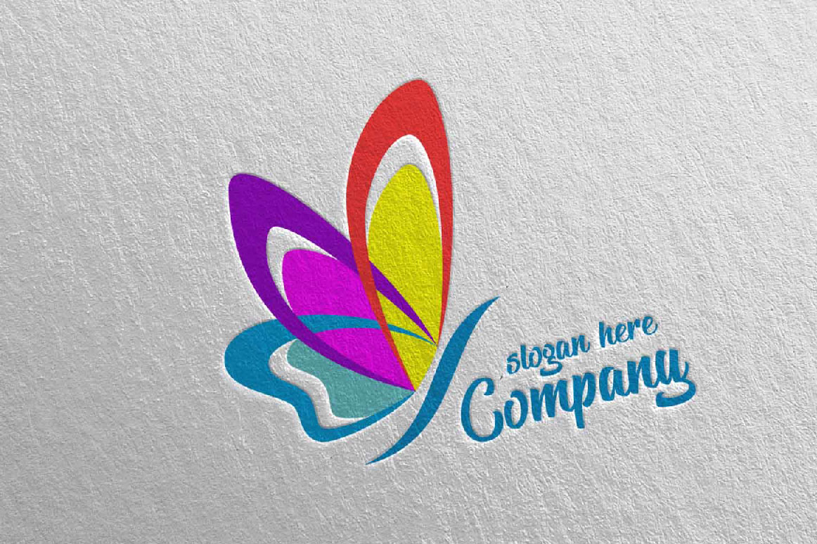 Butterfly Logo Vol 9 Graphic By Denayunecf Creative Fabrica
