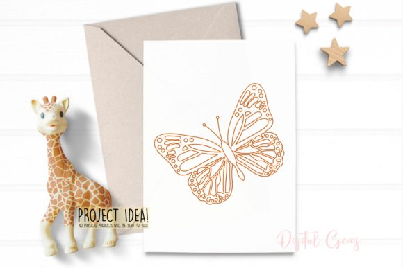 Butterfly Sketch Graphic By Digital Gems Image 4