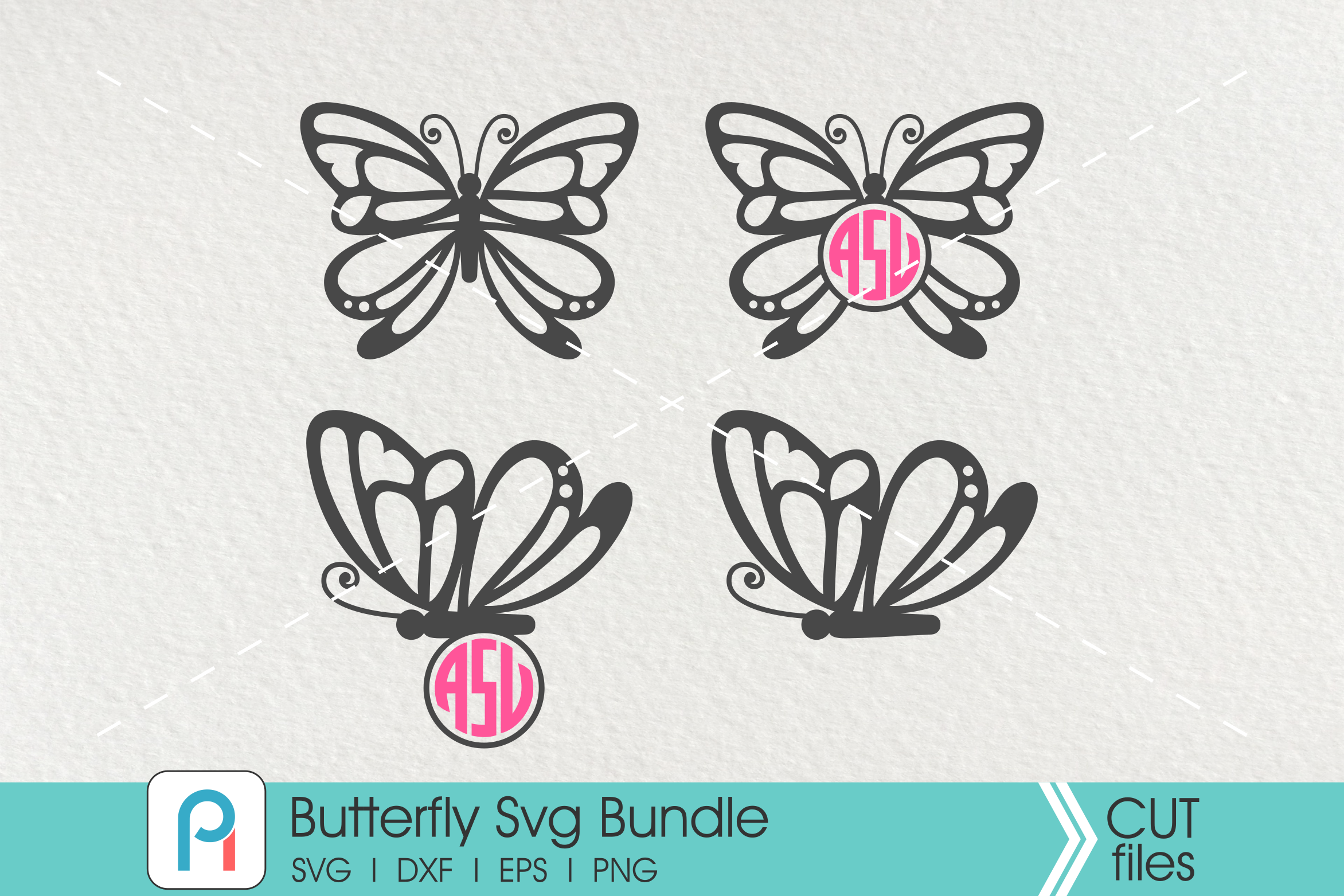 Download Free Butterfly Graphic By Pinoyartkreatib Creative Fabrica for Cricut Explore, Silhouette and other cutting machines.