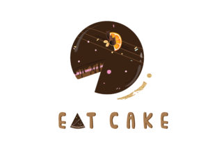 Download Free Cake Vector Graphic By Underscore Creative Fabrica for Cricut Explore, Silhouette and other cutting machines.