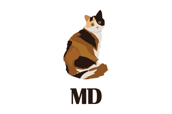 Calico Cat MD Designs & Drawings Craft Cut File By Creative Fabrica Crafts - Image 1