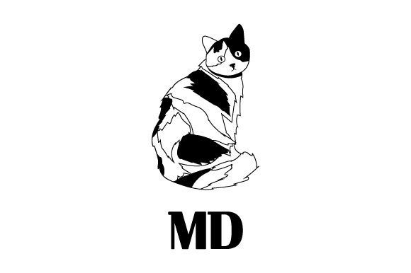Download Free Calico Cat Md Svg Cut File By Creative Fabrica Crafts Creative for Cricut Explore, Silhouette and other cutting machines.