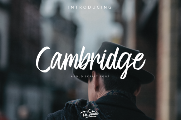 Print on Demand: Cambridge Script & Handwritten Font By Yusuf Artworks