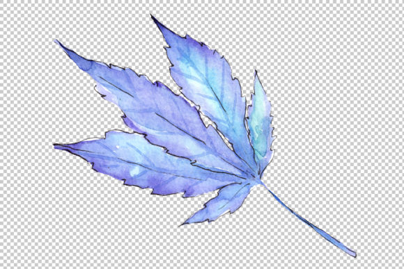 Print on Demand: Cannabis Plant Watercolor Png Graphic Illustrations By MyStocks - Image 2