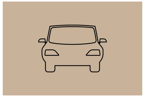 Download Free Car Icon In Line Style Vector Graphic By Hoeda80 Creative for Cricut Explore, Silhouette and other cutting machines.