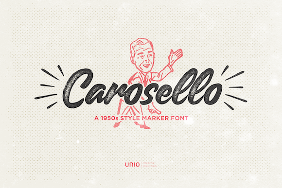 Carosello Font By unio.creativesolutions Image 1