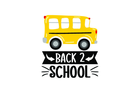 Download Free Cartoony Fun School Bus Back 2 School Svg Cut File By Creative for Cricut Explore, Silhouette and other cutting machines.