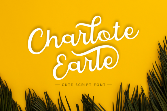 Print on Demand: Charlote Earle Script & Handwritten Font By Dani (7NTypes) - Image 1