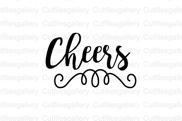 Download Free Cheers Beer Saying Graphic By Cutfilesgallery Creative Fabrica for Cricut Explore, Silhouette and other cutting machines.