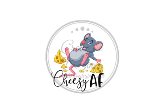 Download Free Cheesey Graphic By Cre8tivedezinez Creative Fabrica for Cricut Explore, Silhouette and other cutting machines.