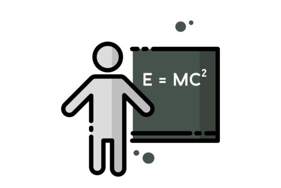 Chemistry Lesson Icon Graphic By Home Sweet