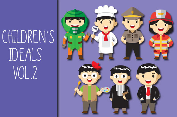 Print on Demand: Children's Ideal Vol.2 Graphic Illustrations By Bayu Baluwarta