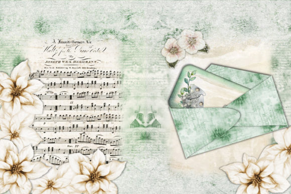 Christmas Backgrounds and Clipart Graphic By The Paper Princess Image 3