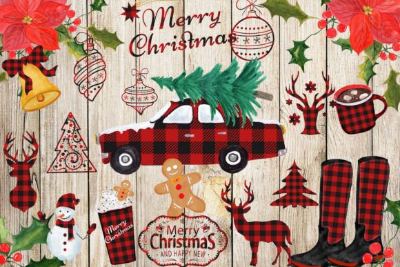 Christmas Clipart Graphic By ChiliPapers Image 2
