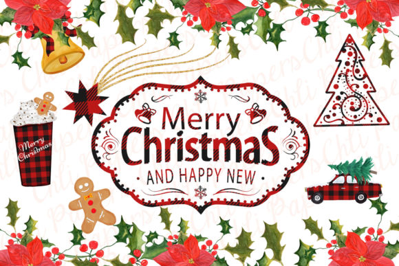 Christmas Clipart Graphic By ChiliPapers Image 4