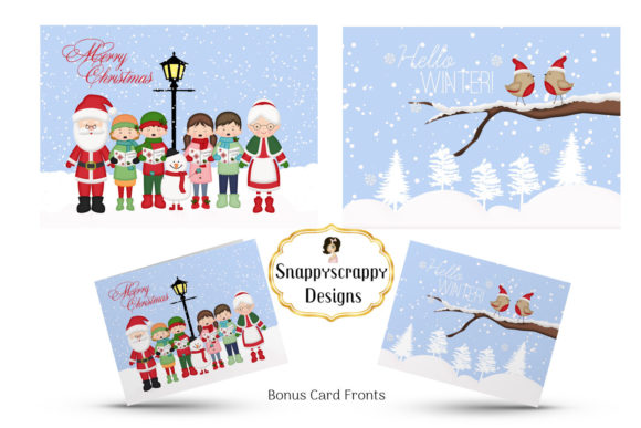 Christmas Fun Clipart Graphic Illustrations By Snappyscrappy - Image 2